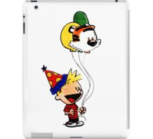 Calvin and Hobbes Party iPad Case/Skin