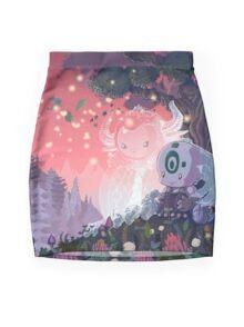 A Fleeting Respite Mini Skirt