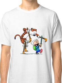 "Calvin and Hobbes ""Jake and Finn"" Classic T-Shirt"