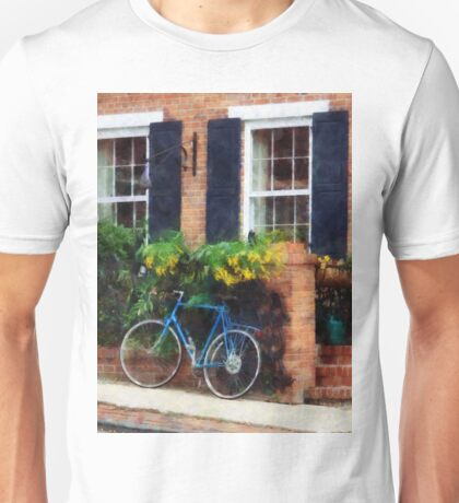 Parked Bicycle Unisex T-Shirt