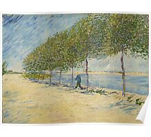Vincent Van Gogh - By the Seine, 1887 Poster