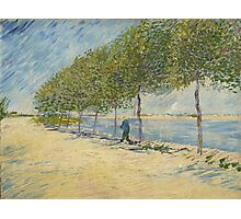 Vincent Van Gogh - By the Seine, 1887 Photographic Print