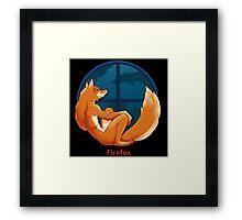 Firefox Parody Framed Print