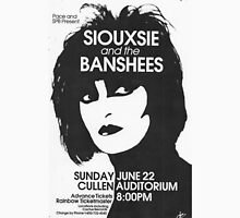 Siouxsie And The Banshees concert T-Shirt