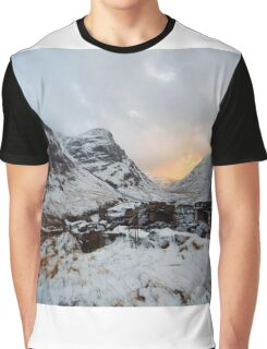 Snowy Sisters Graphic T-Shirt