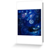 It's Jellyfishing Outside Tonight Greeting Card