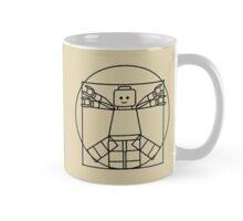 Lego Vitruvian Man Mug