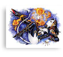 Firepumpkins Canvas Print