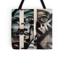 face  mash up#2 Tote Bag
