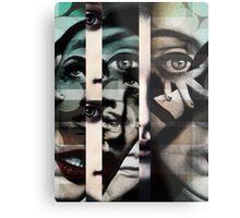 face  mash up#2 Metal Print