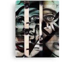 face  mash up#2 Canvas Print