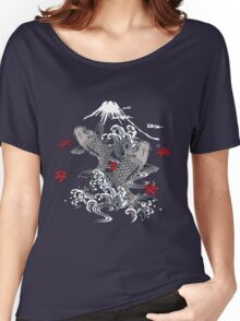 Japanese Koi Graphic Design Women's Relaxed Fit T-Shirt