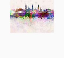 Guadalajara skyline in watercolor background Unisex T-Shirt