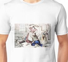 Blue Monday - 1907 - Currier & Ives Unisex T-Shirt