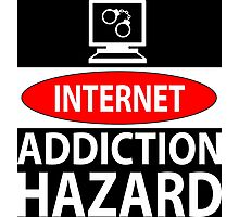 Internet – addiction hazard Photographic Print