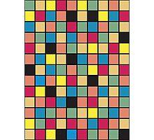 color squares Photographic Print