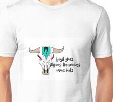 Cow Skull Quote Print Unisex T-Shirt