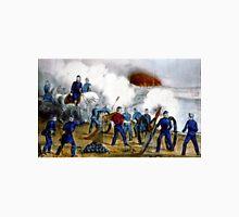 Bombardment and capture of Fredericksburg, Va.-Dec. 11th 1862 - Circa 1880 - Currier & Ives Unisex T-Shirt