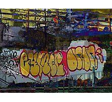 SFC Graffiti Collage Photographic Print