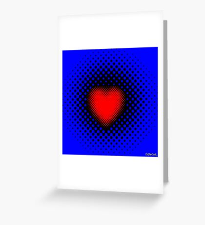 Pulsating Heart Greeting Card
