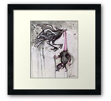 ink & paper 4 Framed Print