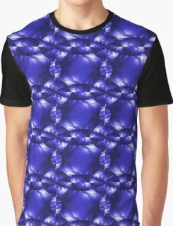 Blue Leather Lounge Graphic T-Shirt