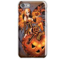 Fairy of Halloween Pumpkin iPhone Case/Skin