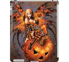 Fairy of Halloween Pumpkin iPad Case/Skin