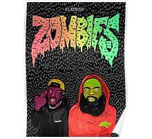 Flatbush zombies art Poster