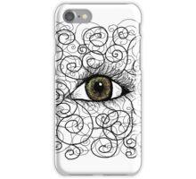 Eyes open iPhone Case/Skin