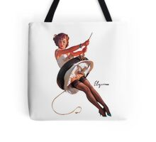 pin up girl Tote Bag