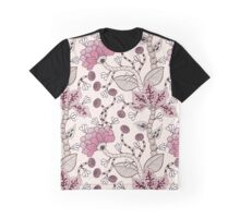 Floral Pattern #36 Graphic T-Shirt