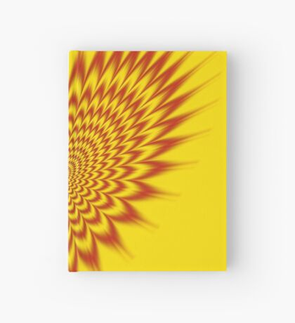 Heart in Flames Hardcover Journal
