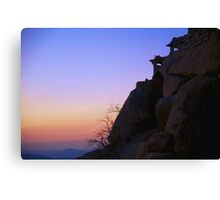 Fantasy Sunrise Canvas Print