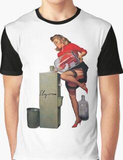 pin up girl Graphic T-Shirt