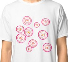 Pink Jellyfish in Water Classic T-Shirt