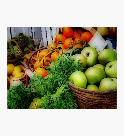 Fruit Basket Photographic Print
