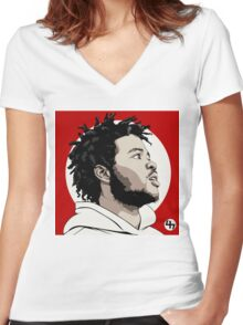 steez Women's Fitted V-Neck T-Shirt