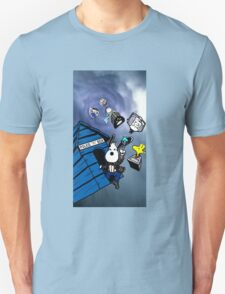 snoopy and friends in doctor who T-Shirt