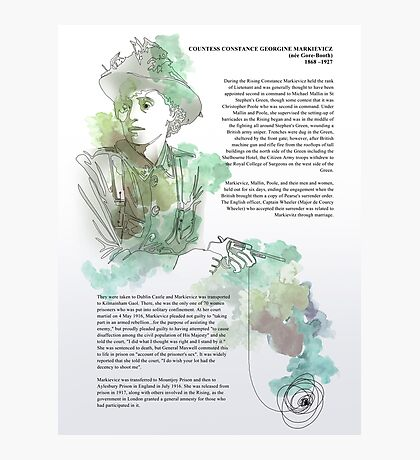 1916 commemorative print: Countess Markievicz Photographic Print