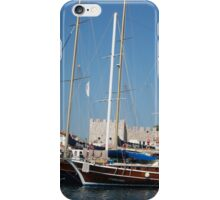 Traditional Turkish Gulets In Marmaris Harbour iPhone Case/Skin