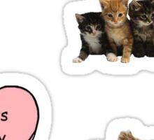 Tumblr Cats Sticker