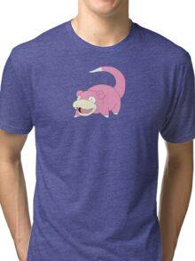 Slow is good - pokemon style Tri-blend T-Shirt