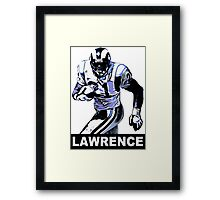 Lawrence Phillips Framed Print