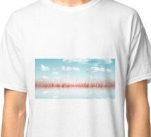 city skyline illustration - abstract cityscape 6 Classic T-Shirt