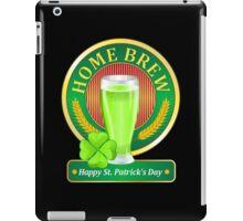 Happy St. Patrick's Day - Green Beer iPad Case/Skin