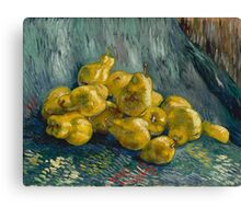 Vincent Van Gogh  Post- Impressionism Oil Painting, Still Life with Quinces, 1888 - 1889 Canvas Print