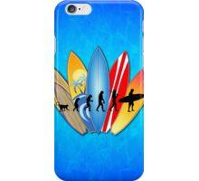 Surfing Evolution iPhone Case/Skin