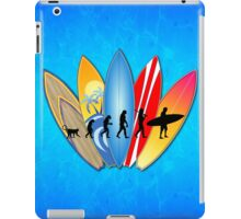 Surfing Evolution iPad Case/Skin