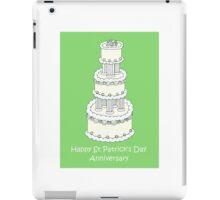 St Patrick's Day Anniversary iPad Case/Skin